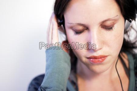 music in ear
