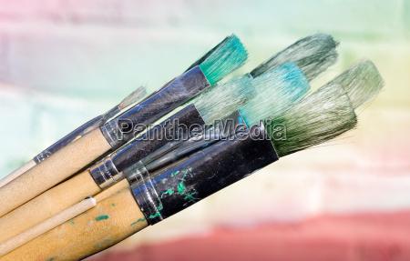 brush, before, painting - 293632