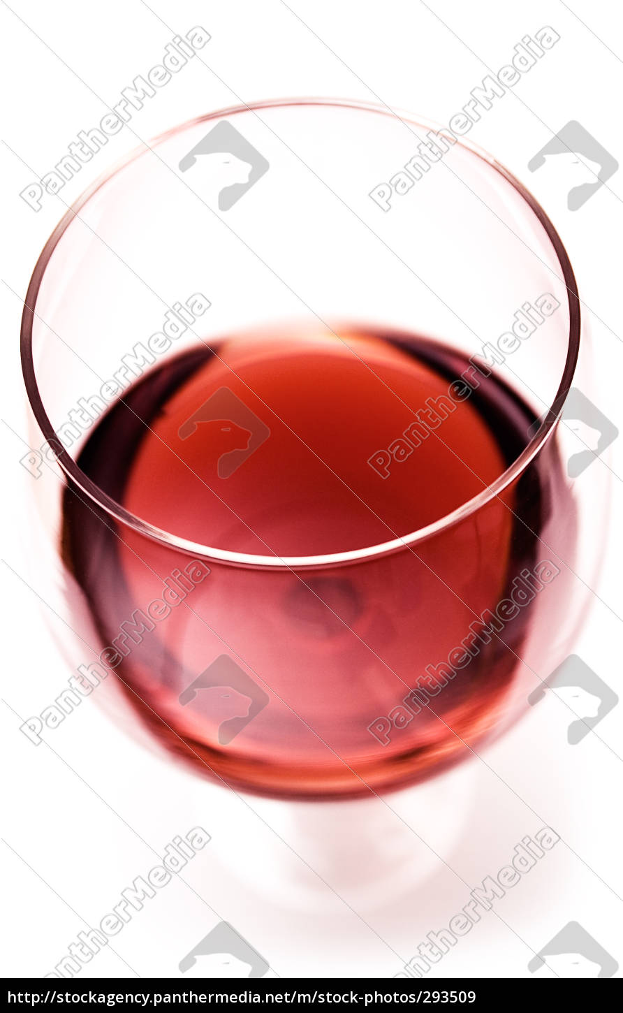 red, wine, glass, top, view - 293509