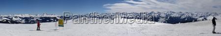 kitzbuehel alps panorama no 1