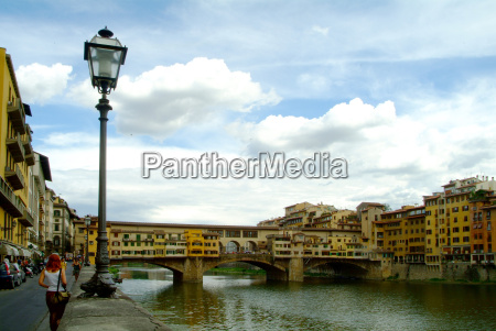 pontevecchio with lantern