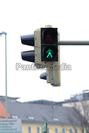 traffic light pedestrian green 1