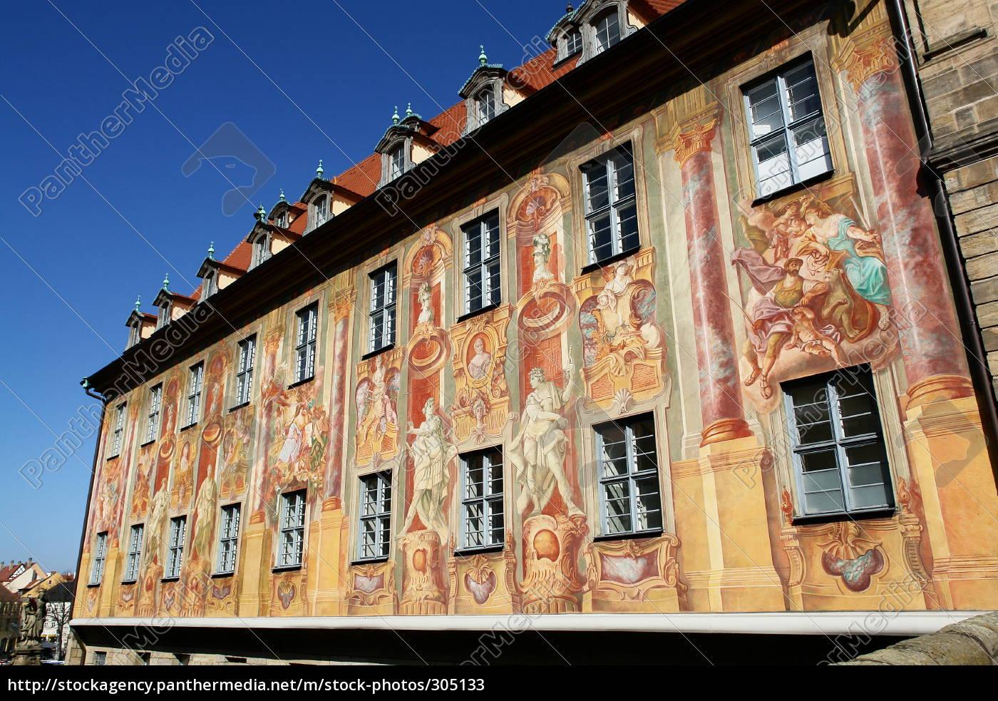 historic, bamberg, town, hall - 305133