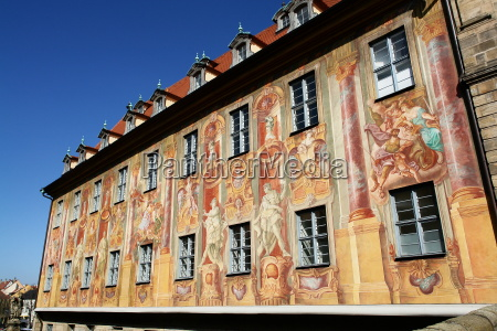 historic, bamberg, town, hall - 305133
