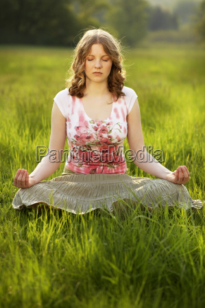 relaxation, in, yoga - 307988