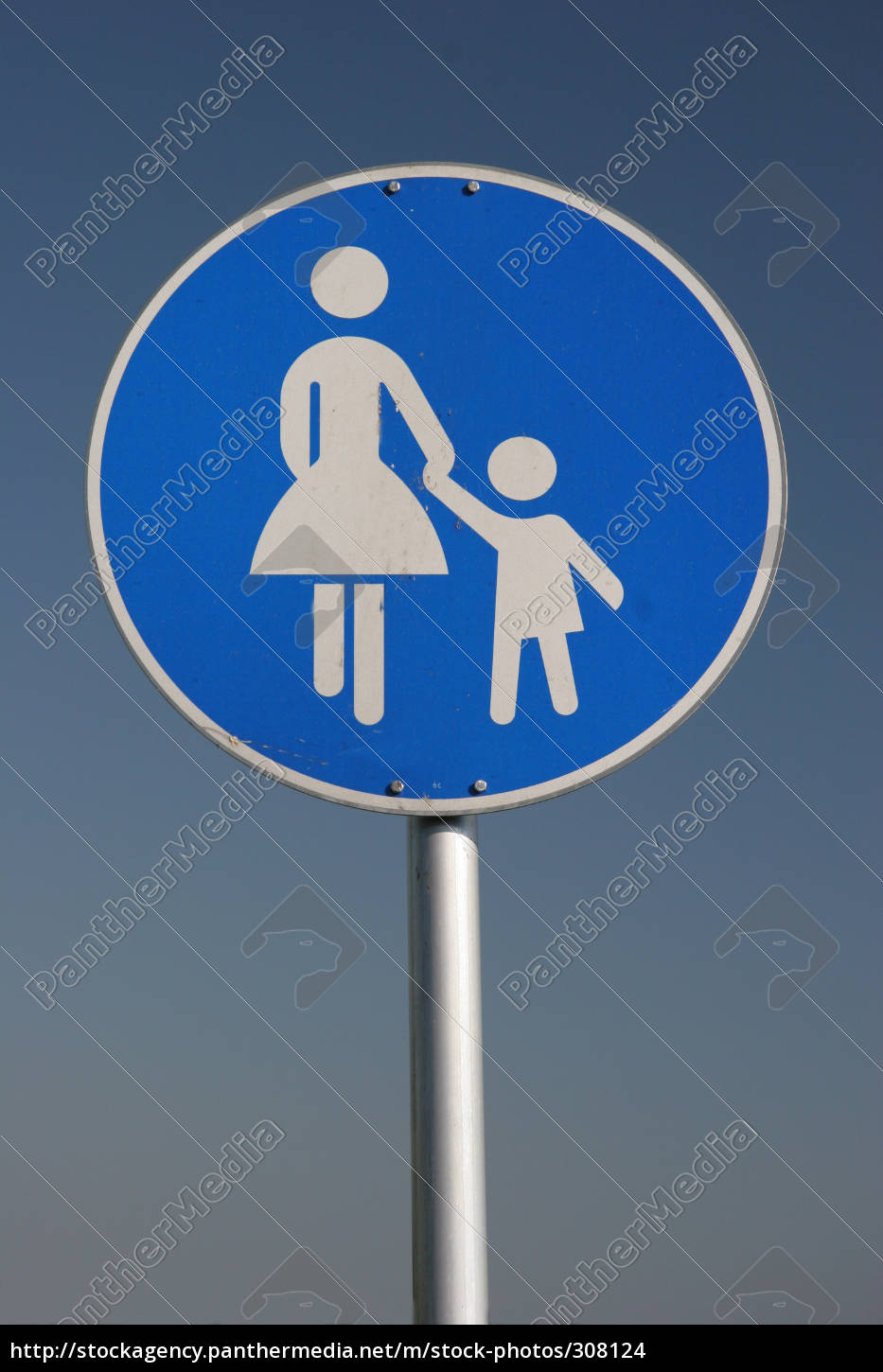 pedestrian, sign - 308124