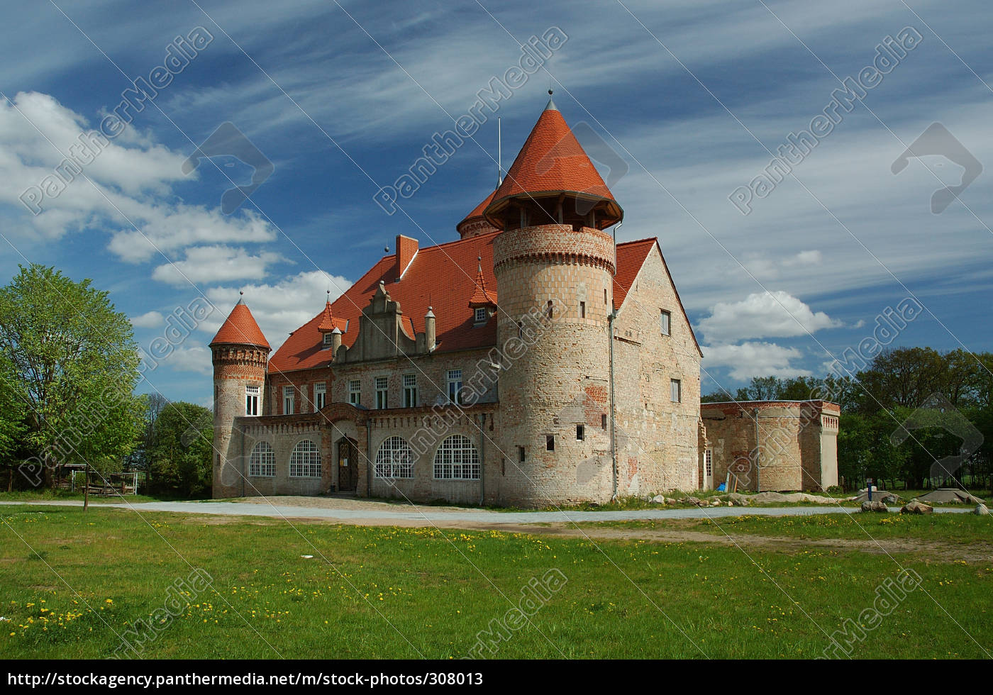 stolpe, castle, on, usedom - 308013