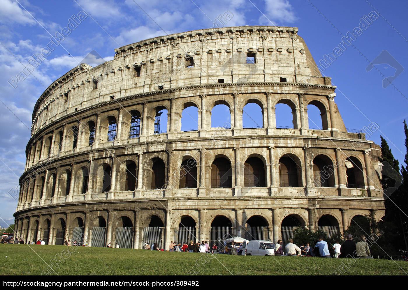 colosseum, in, rome - 309492