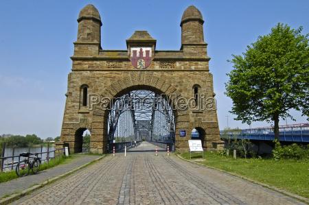 old, harburg, elbe, bridge, iv - 309939