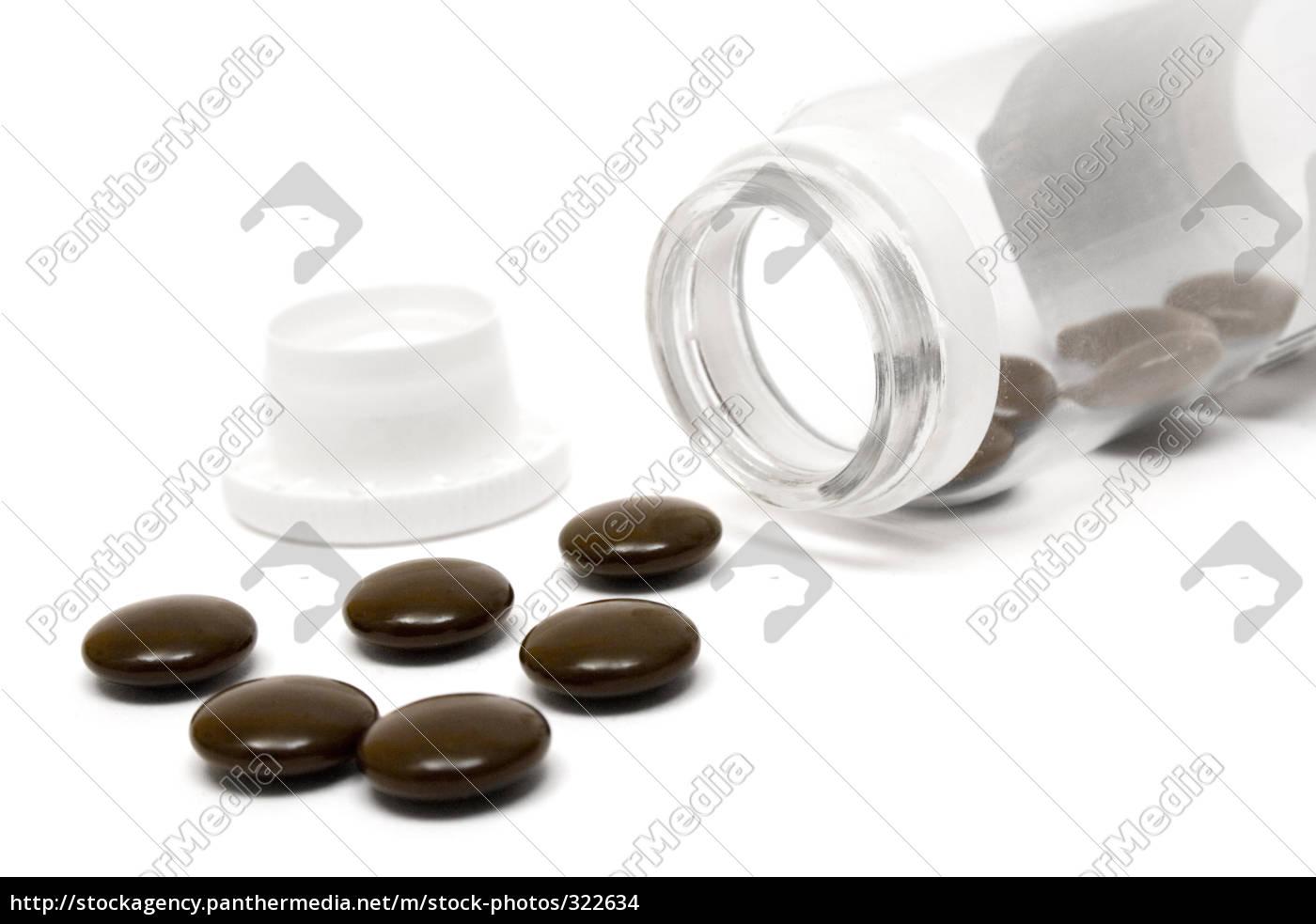 brown, pills - 322634