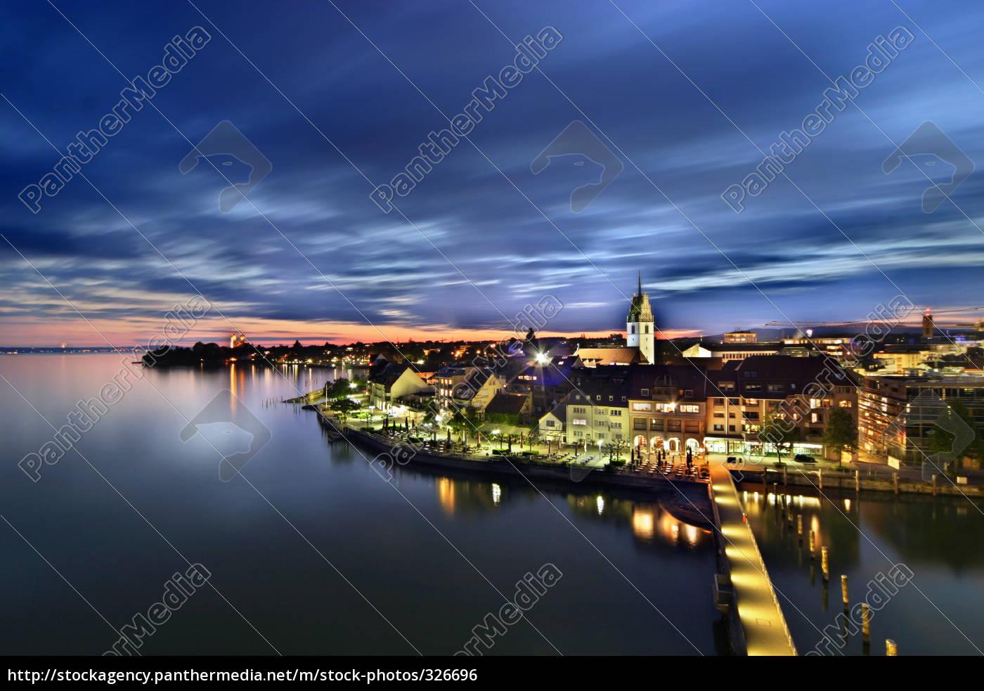 friedrichshafen, at, night - 326696
