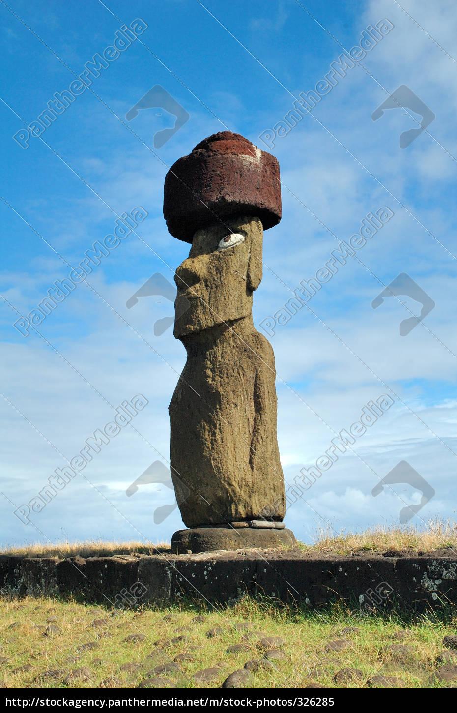 moai, statue, at, ahu, tahai - 326285