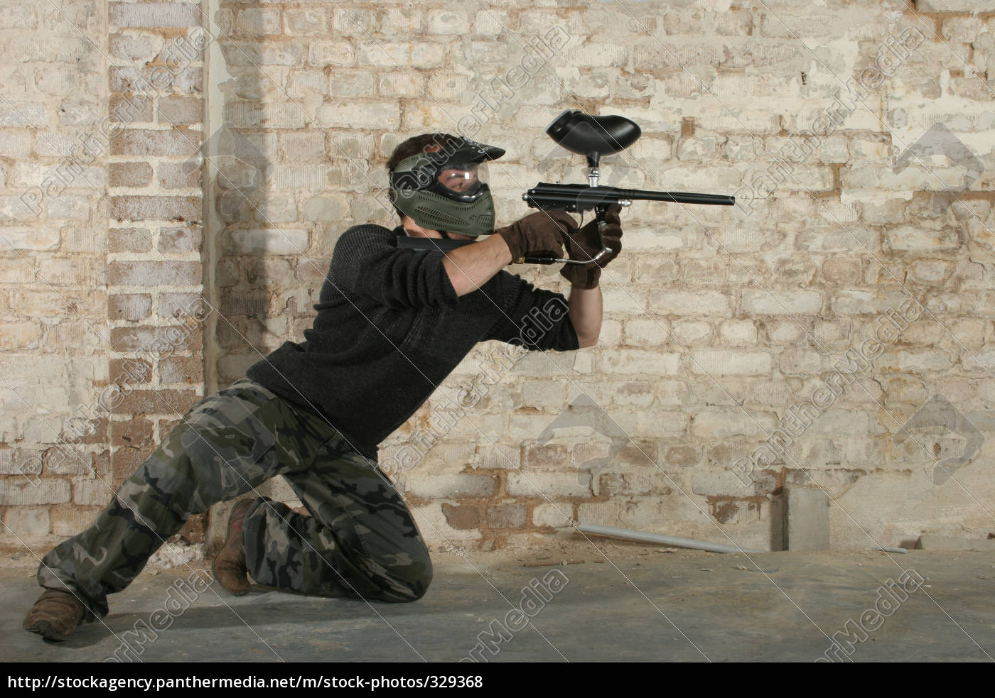 paintball, action - 329368