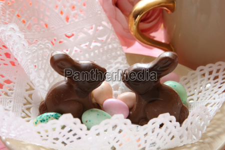 chocolate, bunnies - 334887