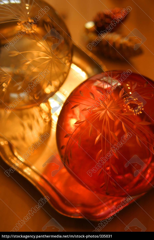 glass, balls, christmas - 335031