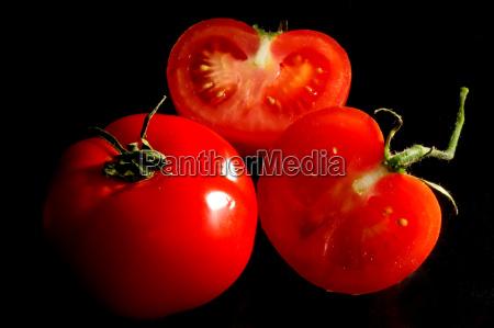 luminous tomatoes