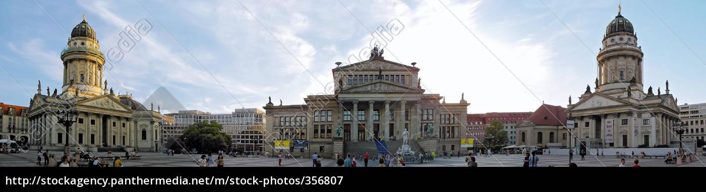 gendarmenmarkt, panorama - 356807