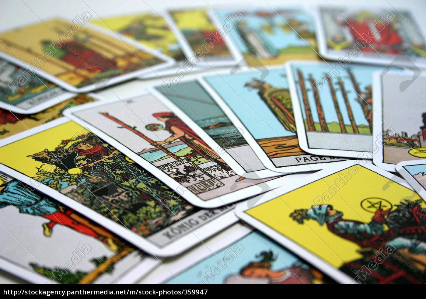 tarot, cards, (6) - 359947