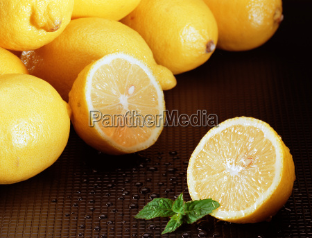 lemon, mint, yellow - 362485