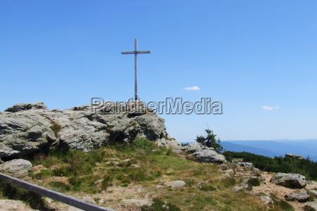 summit cross great arber