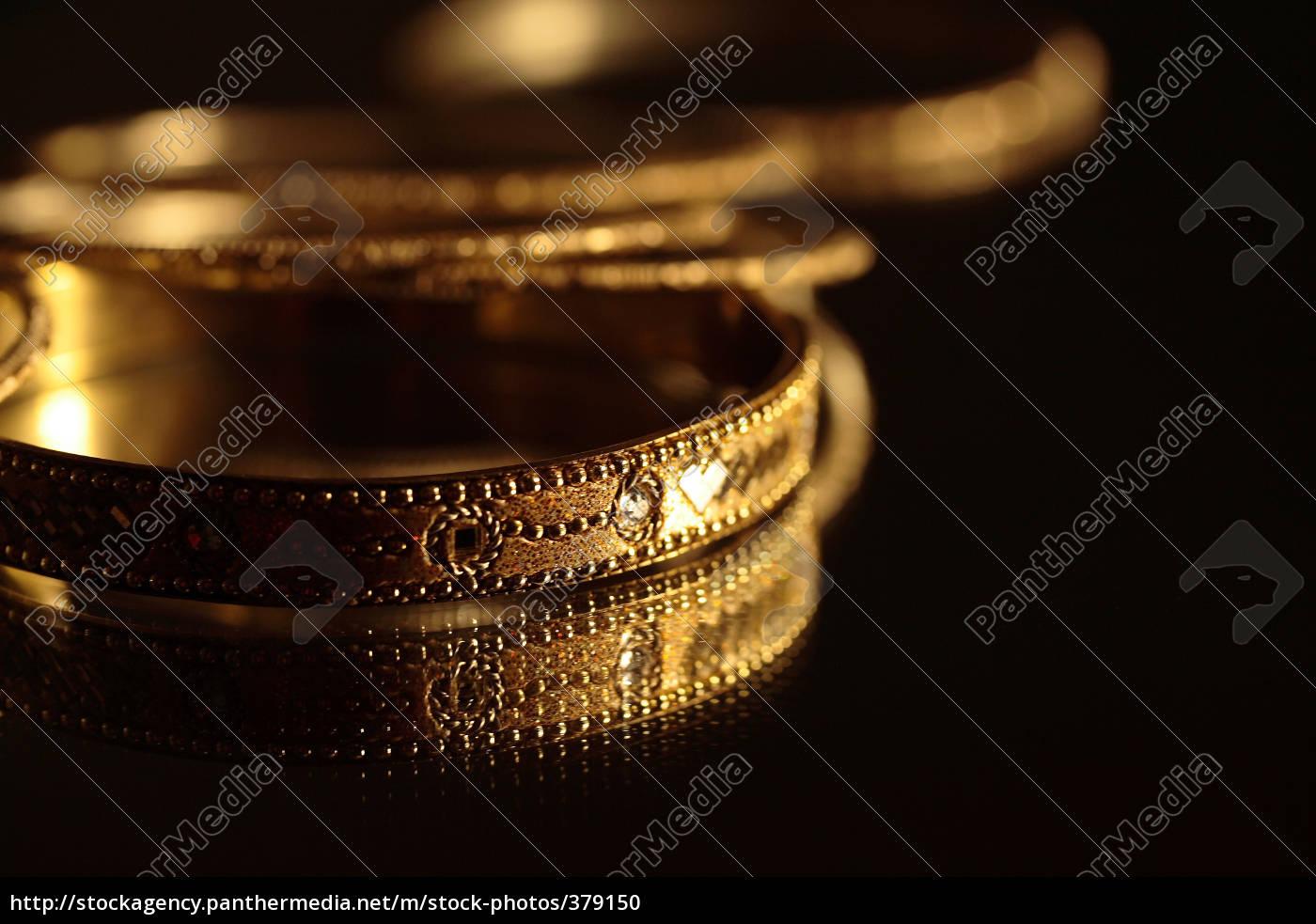 gold, bracelets - 379150