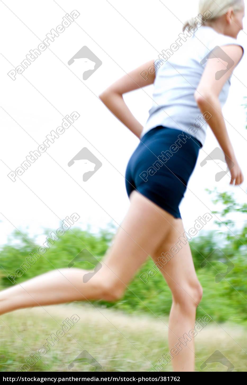 woman, jogging - 381762
