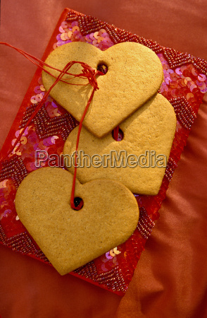 cookie, in, heart, shape - 386812