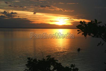 sunset, amazonia - 388143