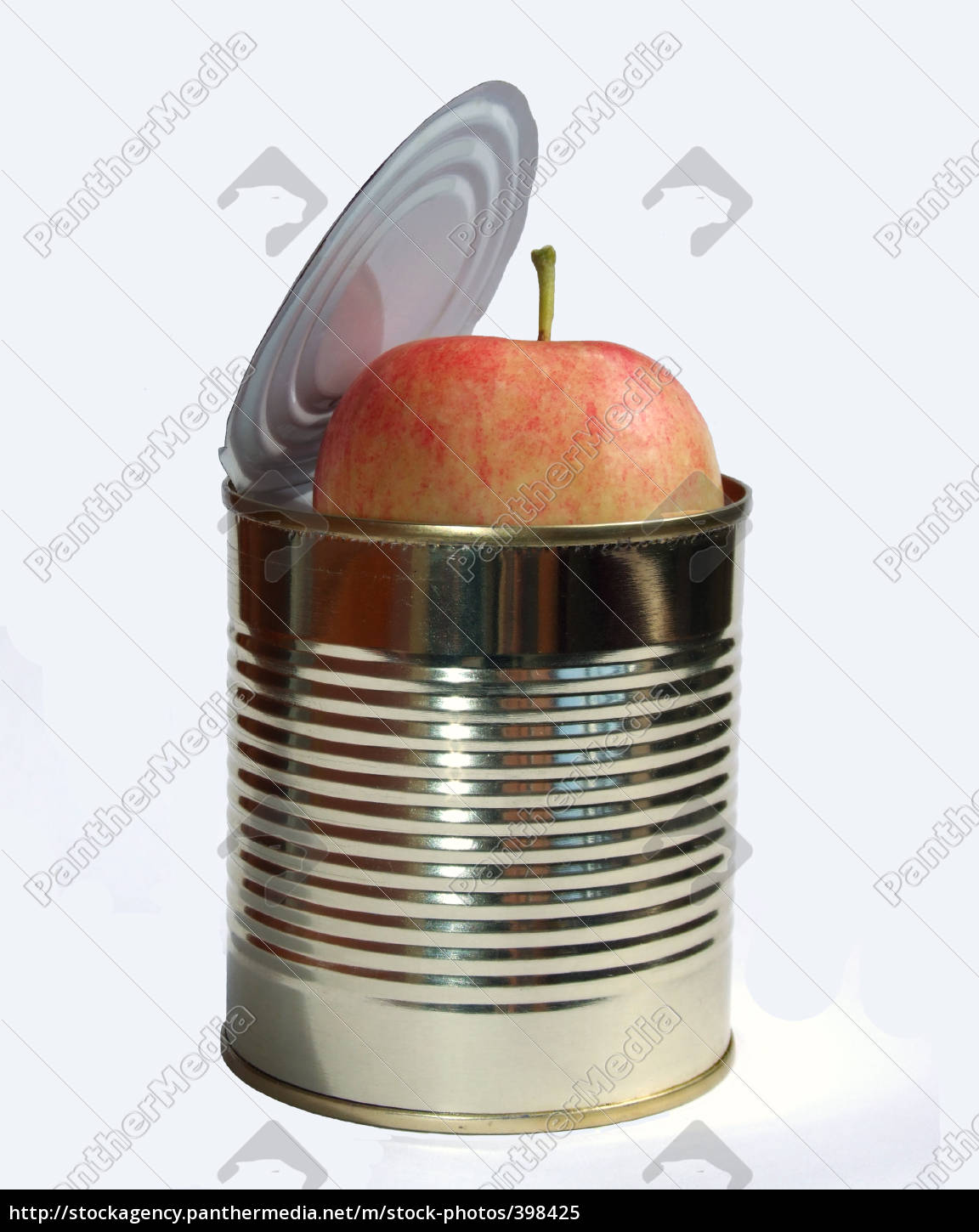 canned, apple - 398425
