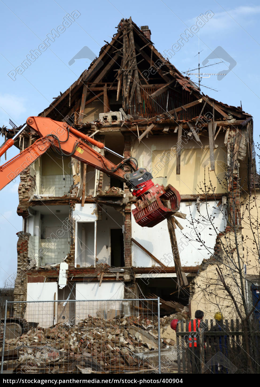 house, demolition - 400904