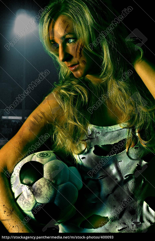 soccer, girl - 400093
