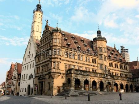 old, town, rothenburg, ob, der, tauber - 405464
