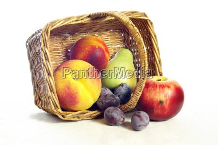 fruits, in, basket - 406576