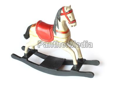 antique, rocking, horse - 407926