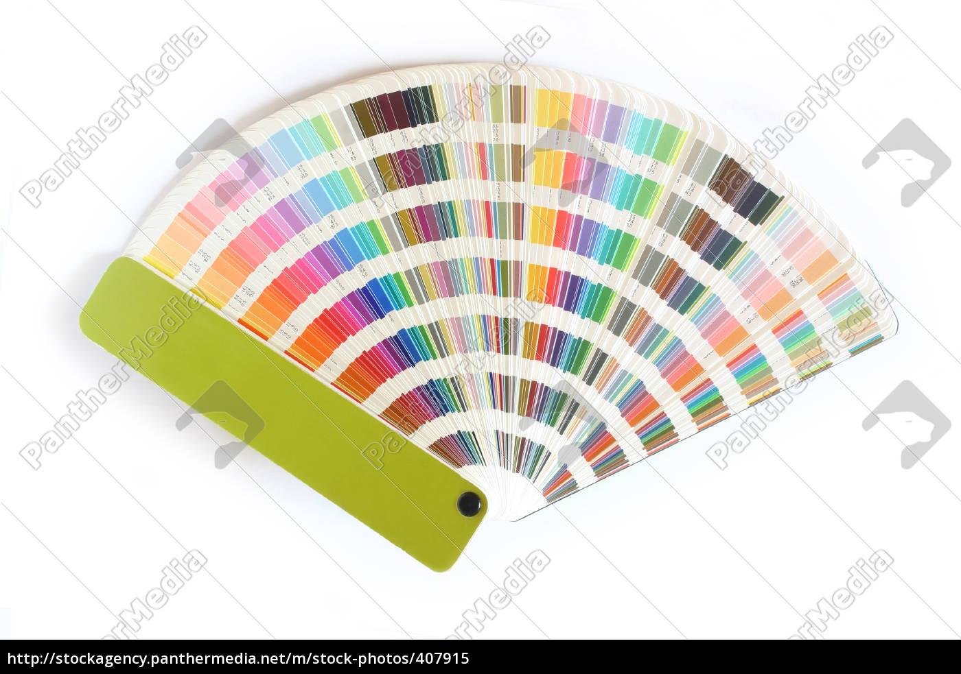 farbfächer - 407915
