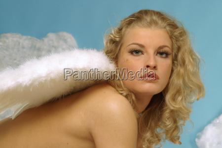 erotic angel portrait 2