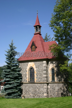 church, in, harrachov, (czech, republic) - 412448