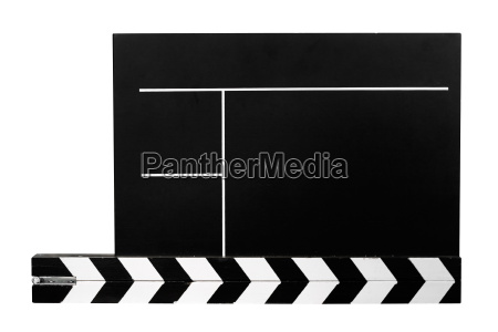 clapperboard, with, clipping, path - 415962