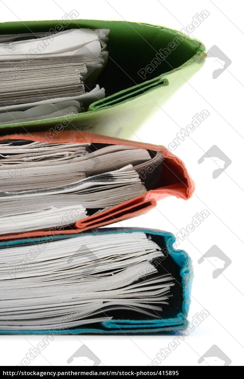 green, red, blue, stapler - 415895