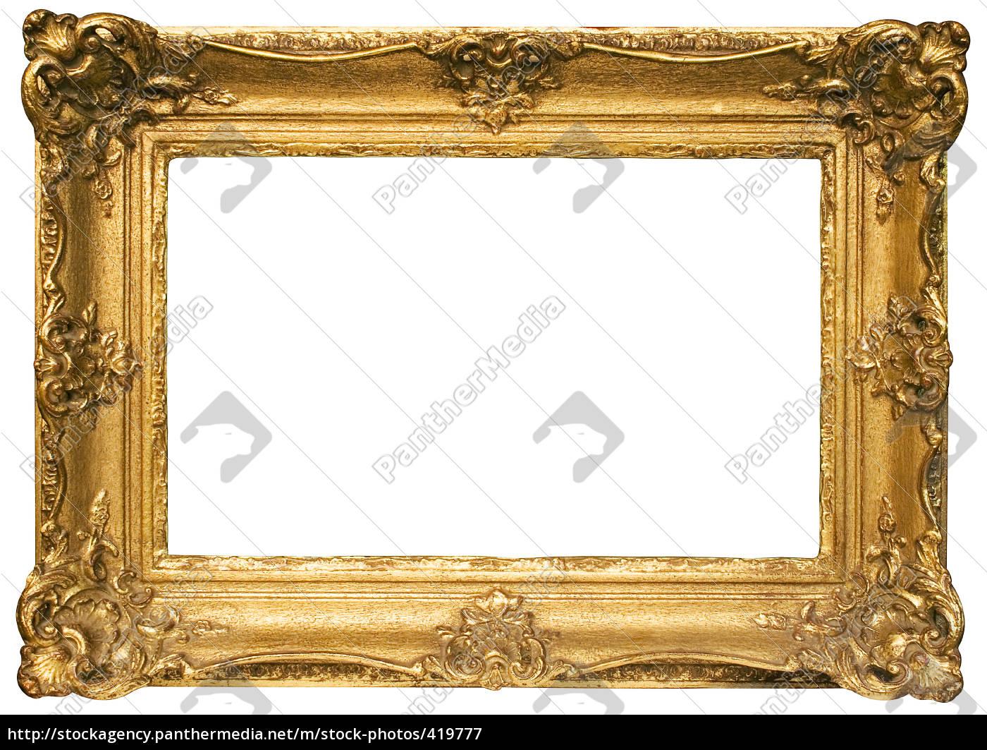gold, frame, landscape - 419777