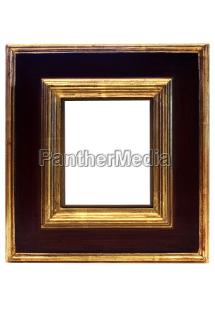 black, and, golden, frame - 438943