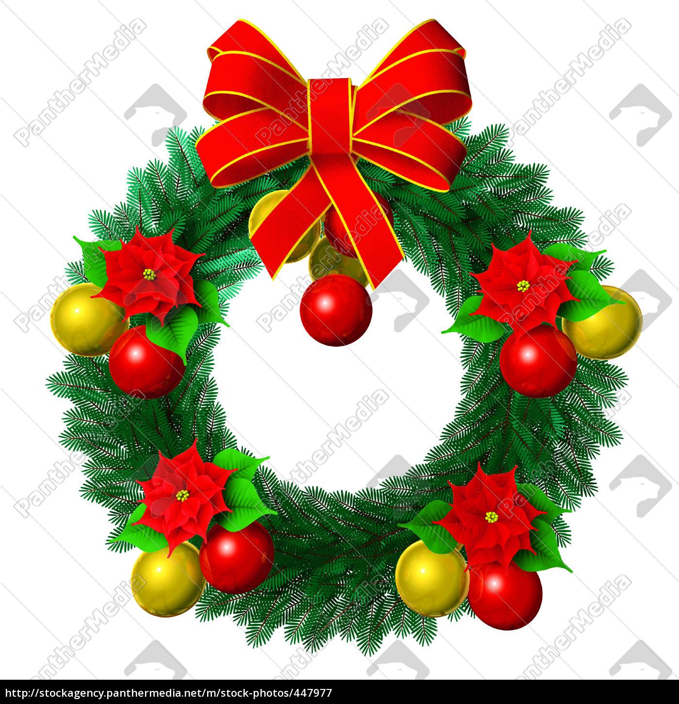 christmas, wreath - 447977