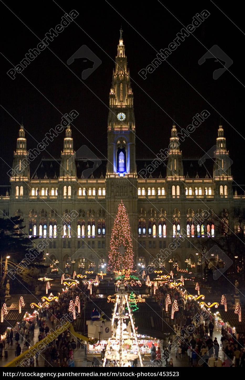 christkindlmarkt, in, vienna - 453523