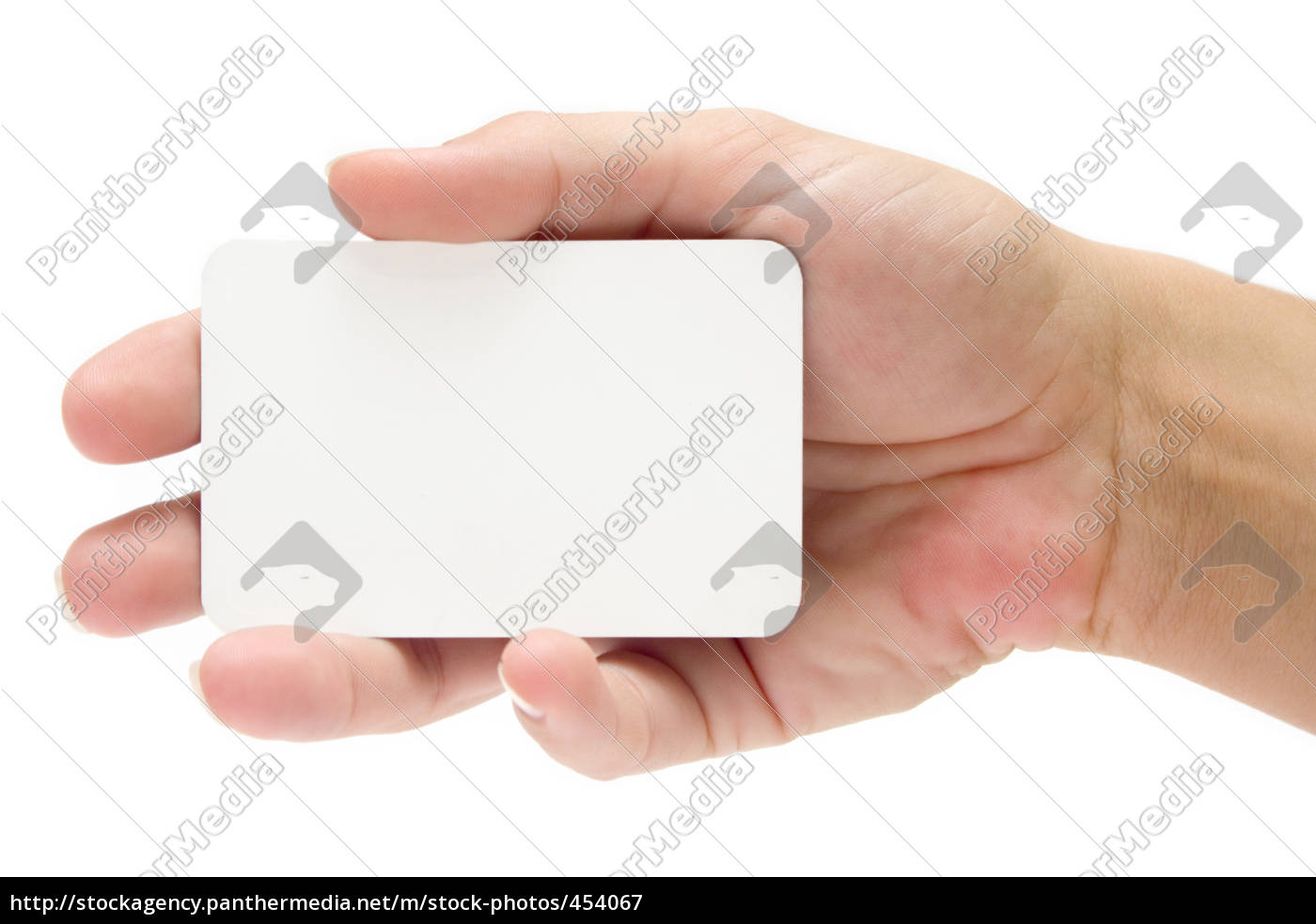 handing, a, business, card - 454067