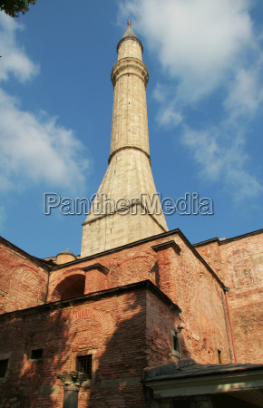 hagia sofia minaret