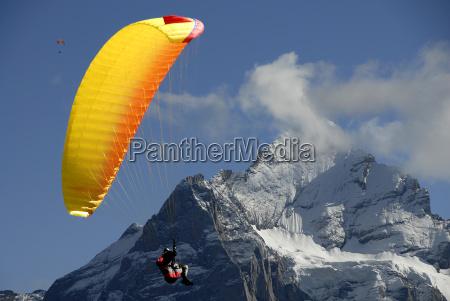 paragliding, highlight - 459723