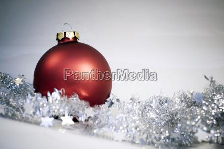 christmas, ball, red - 460500