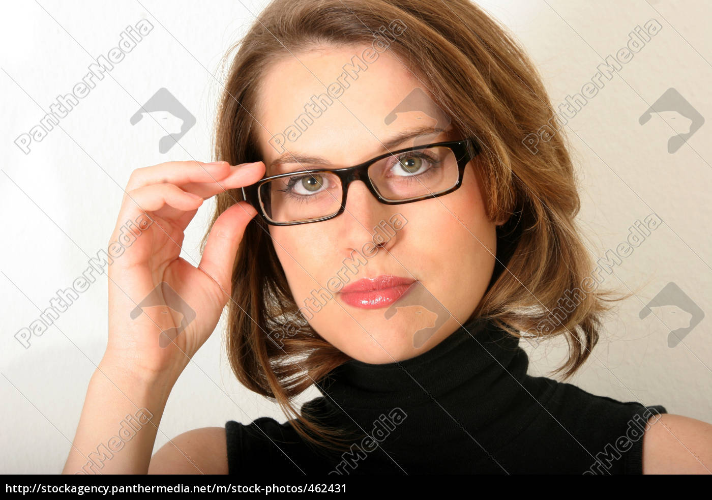 woman, with, glasses - 462431