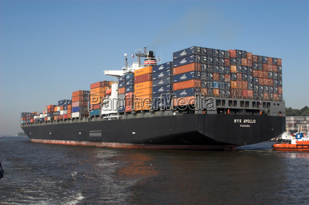 container ship stern