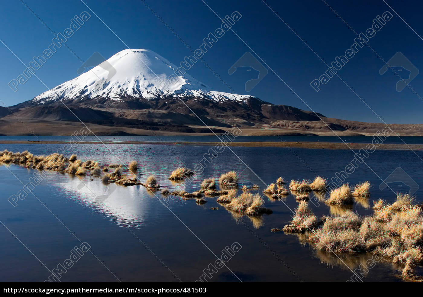 volcano, parinacota - 481503